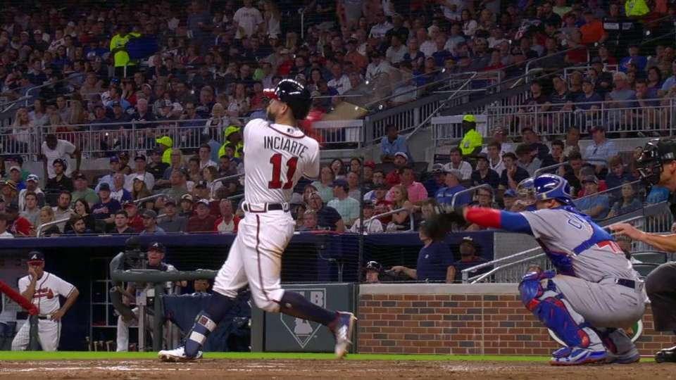 Inciarte's solo home run