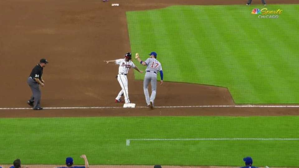Contreras throws out Culberson