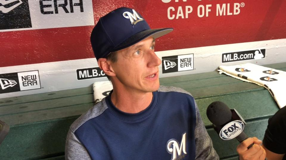 Counsell discusses Braun