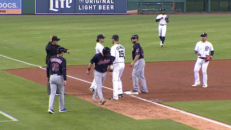 Coleman tags out Kipnis