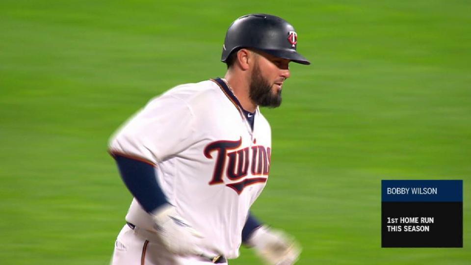 Wilson's 2-run home run