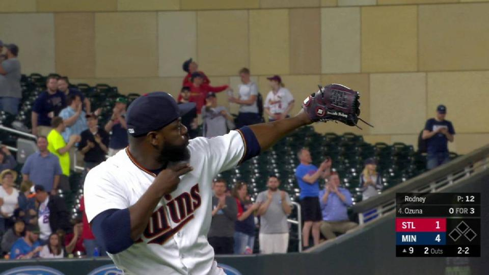 Rodney records his 8th save