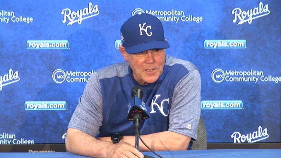 Yost on 6-5 loss to the Rays