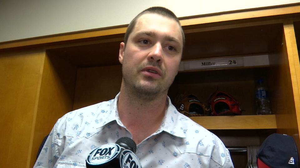 Miller on blown save vs. Tigers