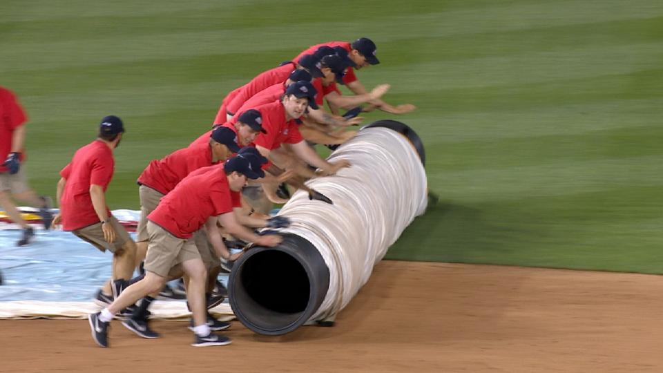 Nats, Yankees game suspended