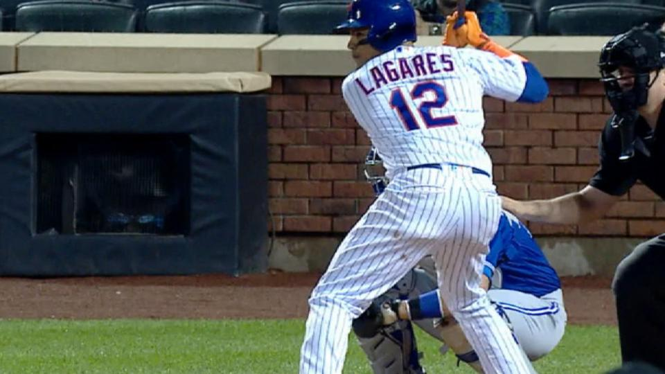 Lagares' 4-hit game vs. Toronto