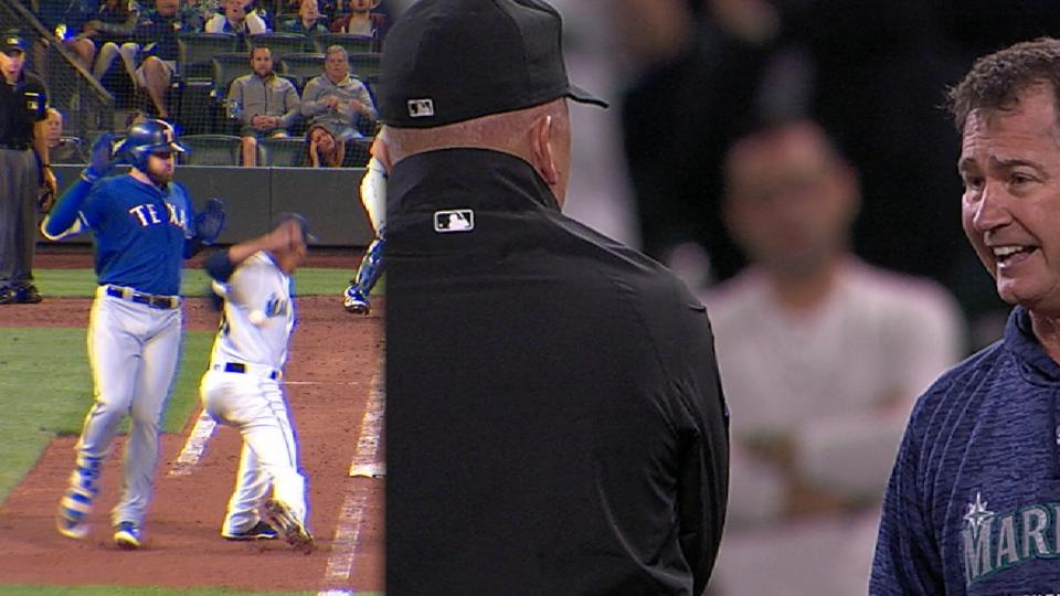 Servais gets ejected