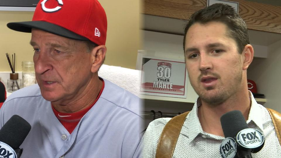 Reds react to 5-3 loss to Giants