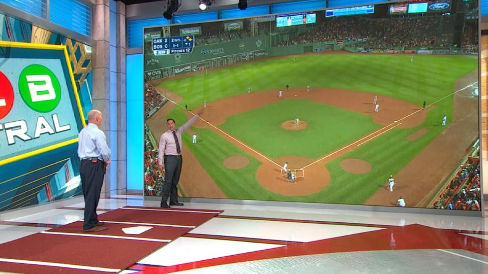 MLB Central on depth 3B play at