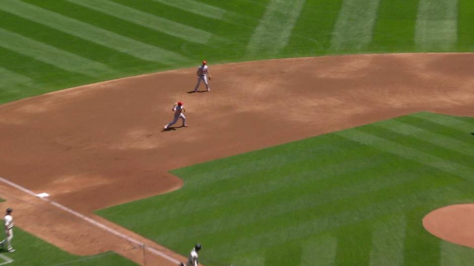 Mikolas gets DP to end the 1st