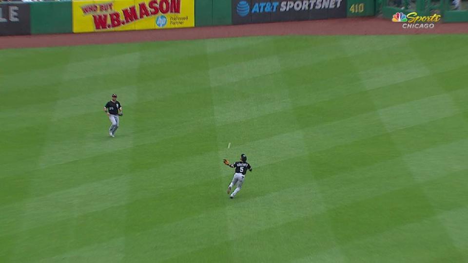 Sanchez's terrific catch