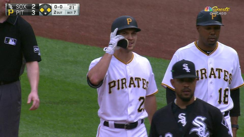 Bell safe at second after reivew