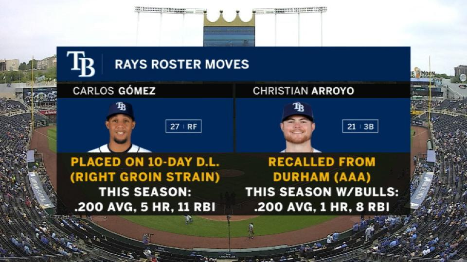 Gomez placed on 10-day DL