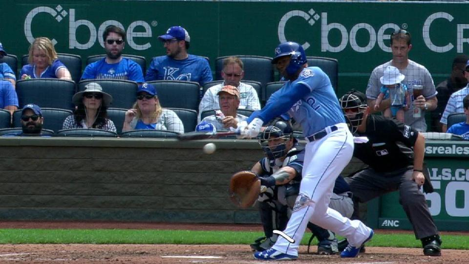 Soler's RBI double to left