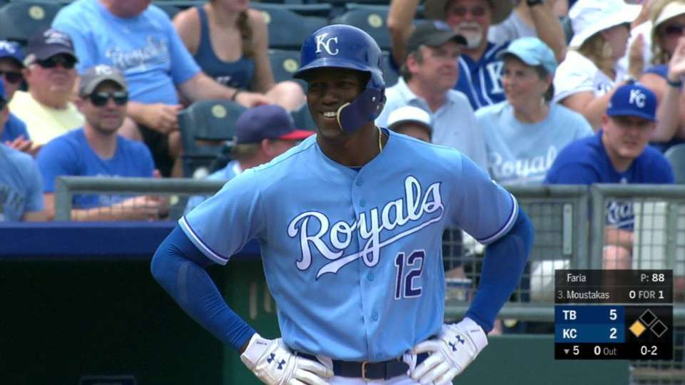 Soler steals third uncontested