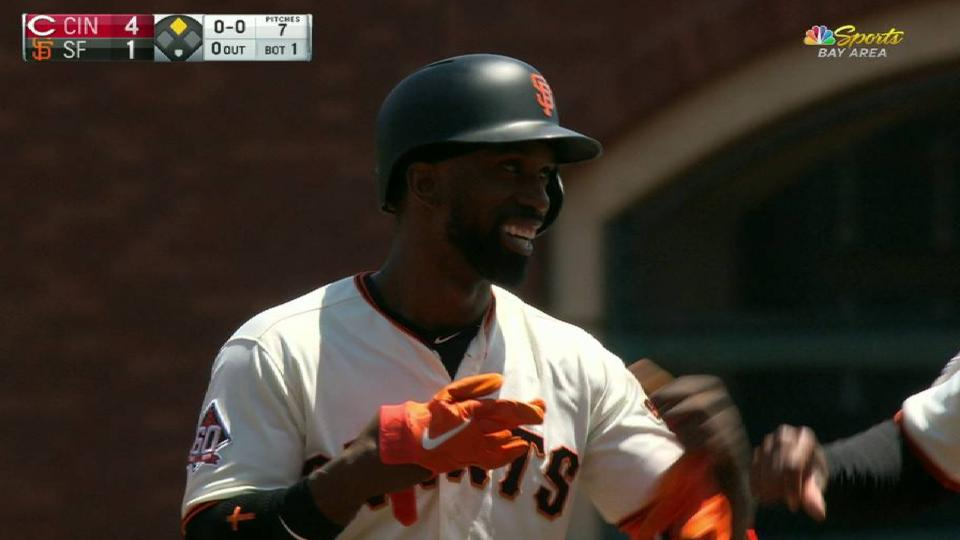 Cutch's RBI double to right