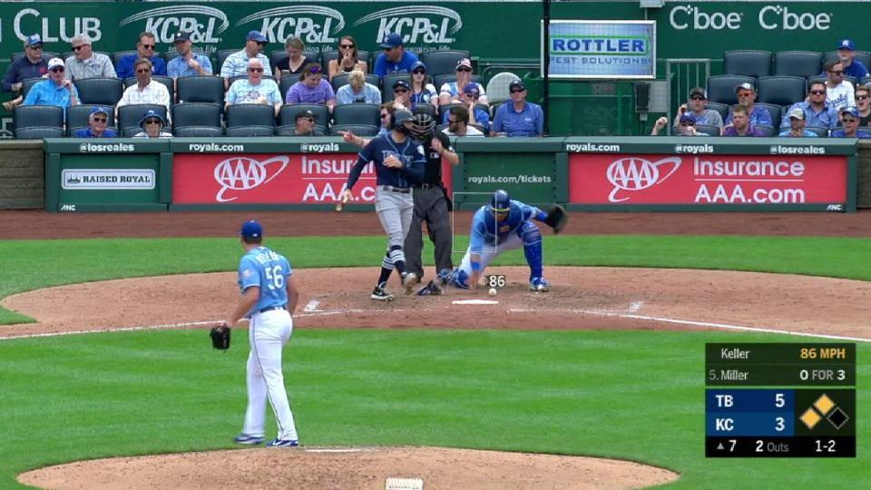 Keller strikes out Miller