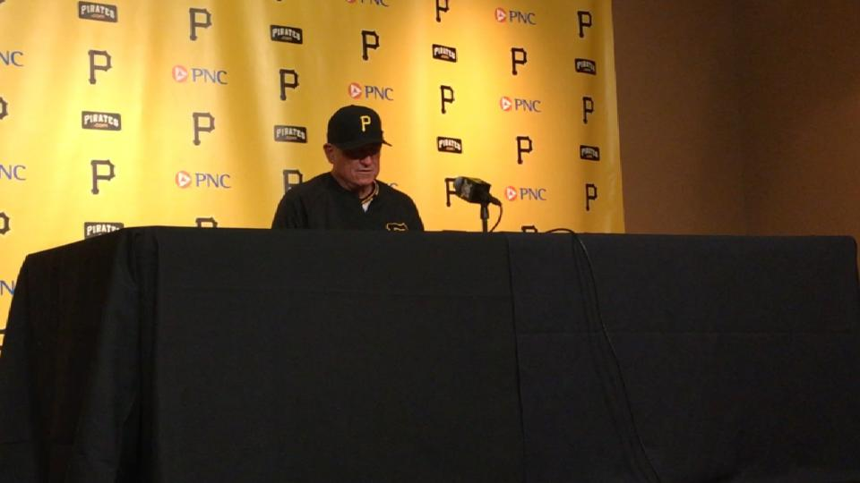 Hurdle on pitching in win