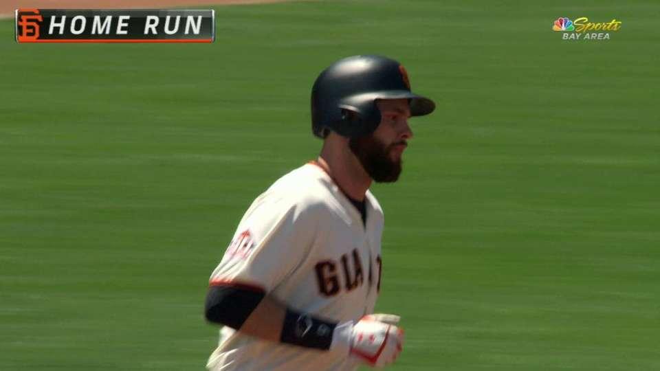 Belt's solo home run off Harvey