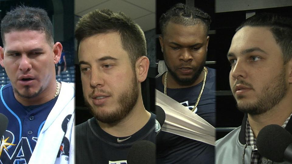 Rays on win over Royals