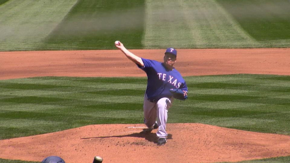 Colon's scoreless start