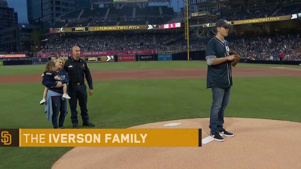 3/30/18: Iverson's first pitch