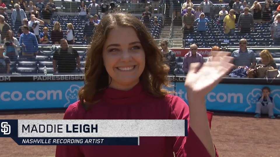 4/5/18: Leigh sings Anthem