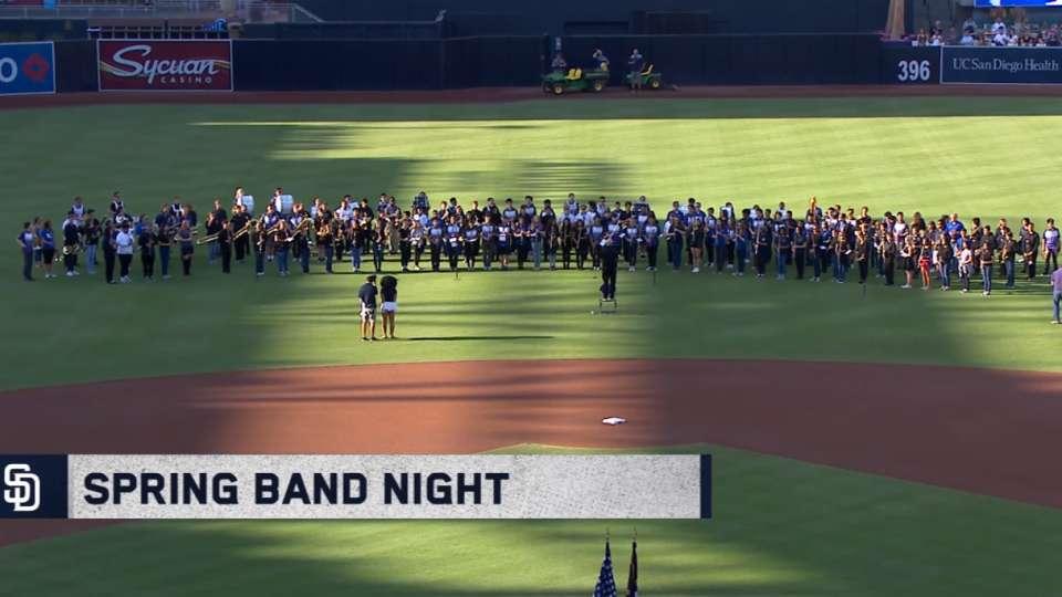National anthem: Spring Band