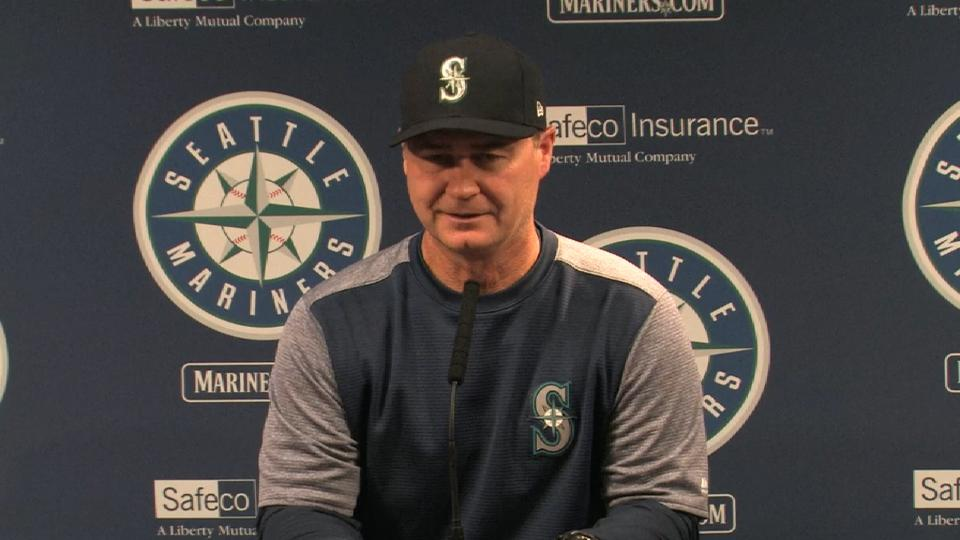 Servais on Bergman in 5-1 loss
