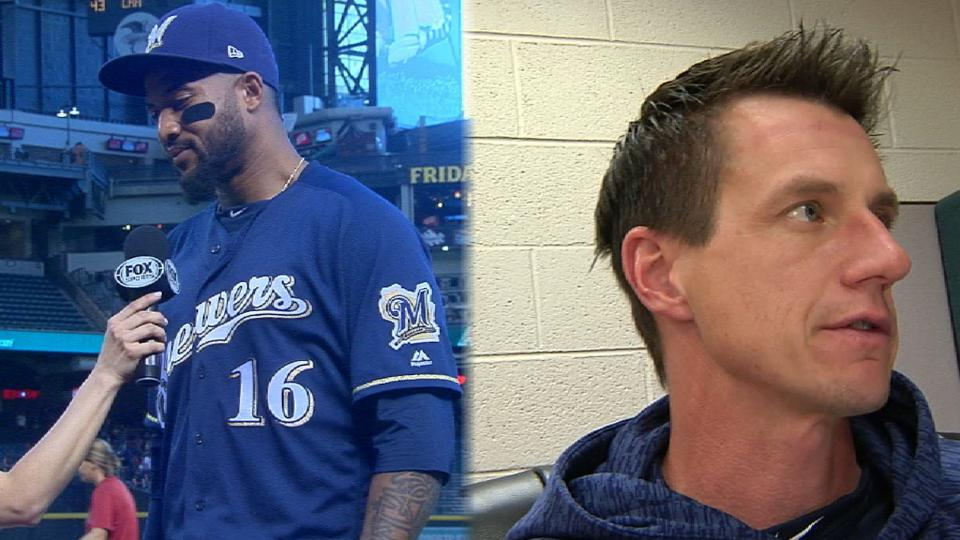 Brewers talk win over D-Backs