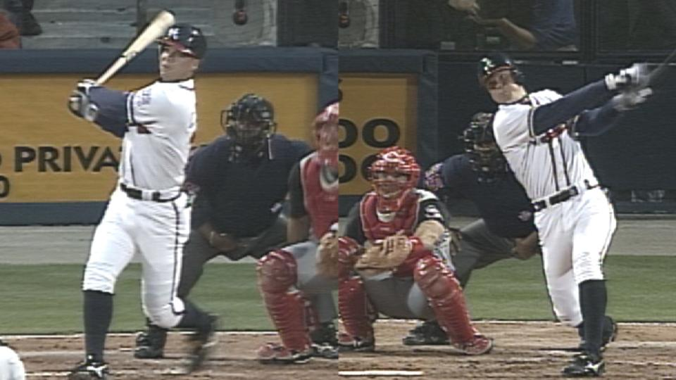 Chipper homers from both sides