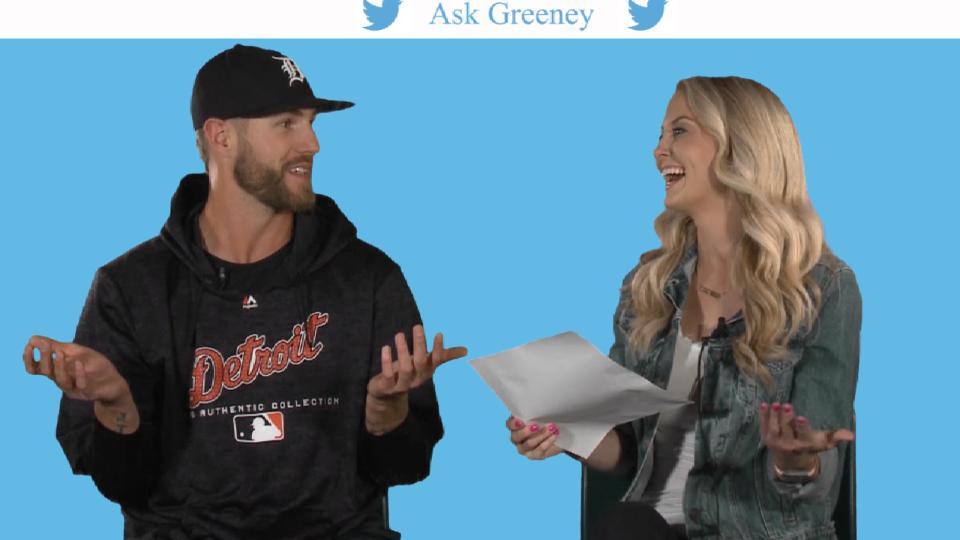 Shane Greene answers questions