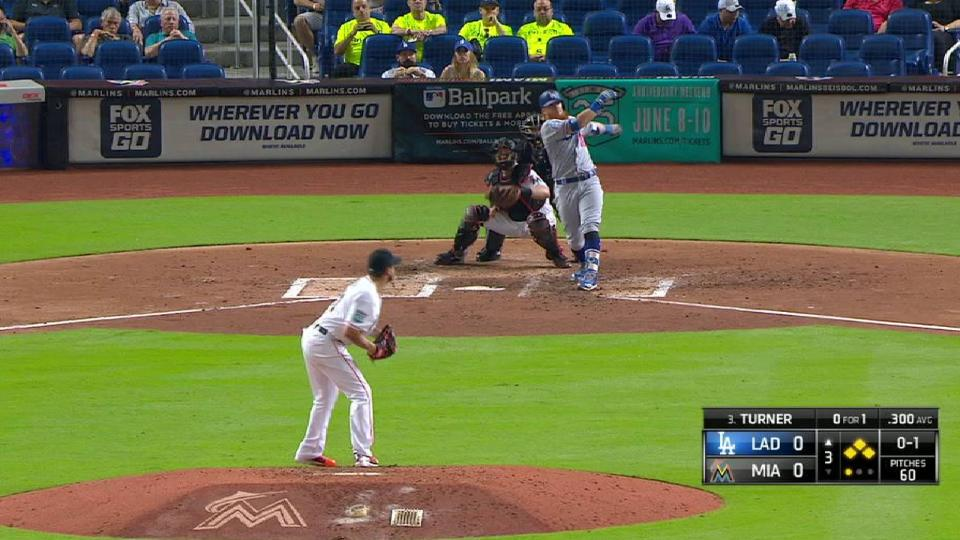 Turner's bases-clearing double