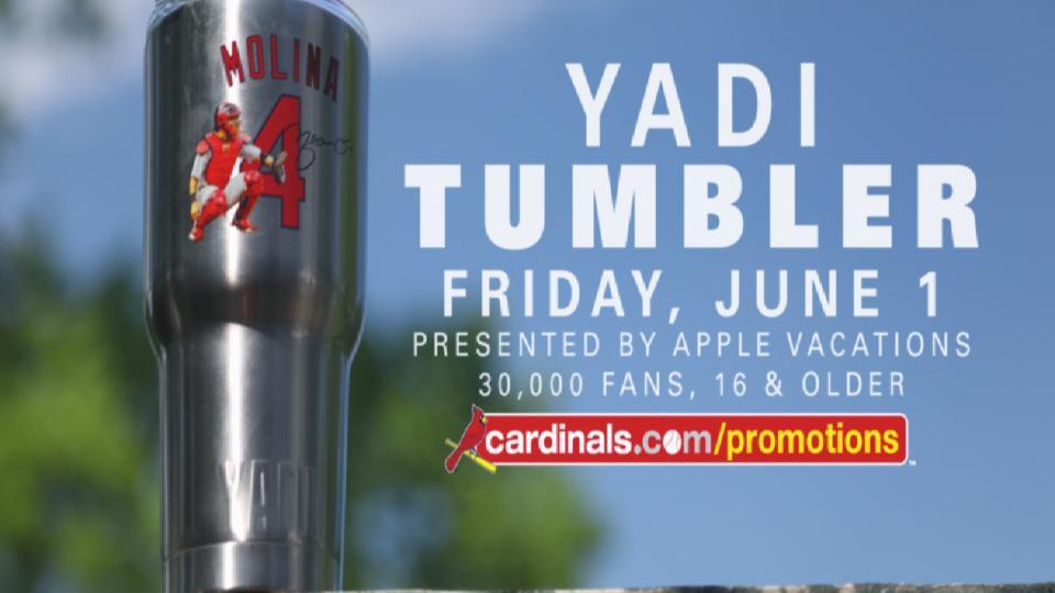 Yadi Tumbler giveaway