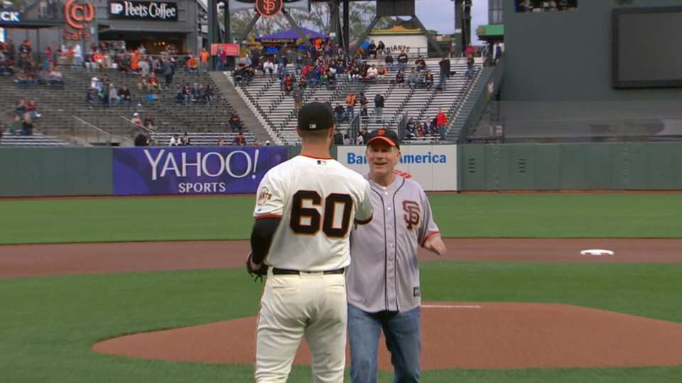 May 15th First Pitch