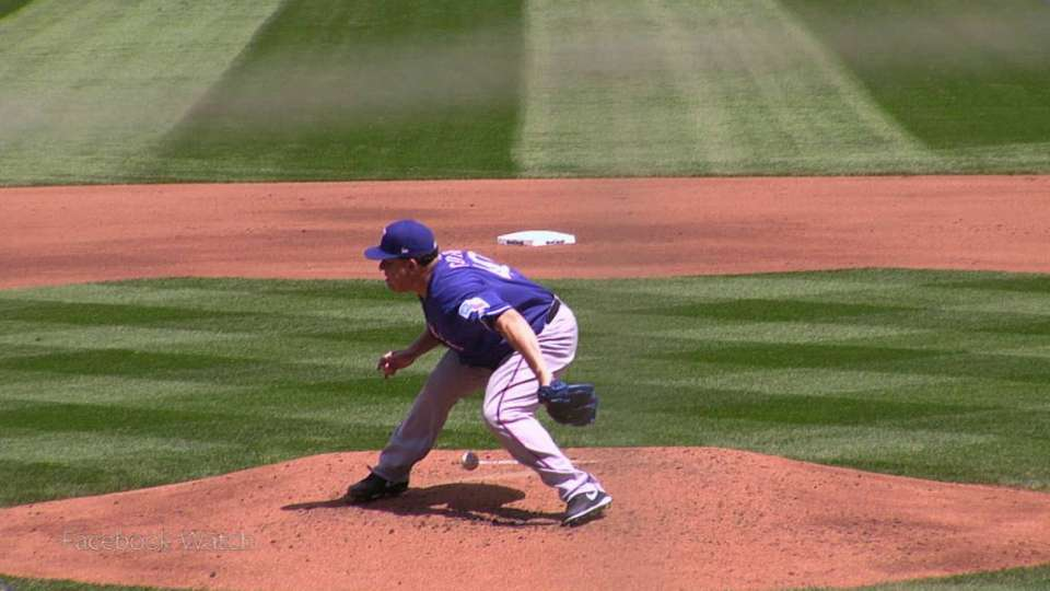 Bartolo withstands liner off gut