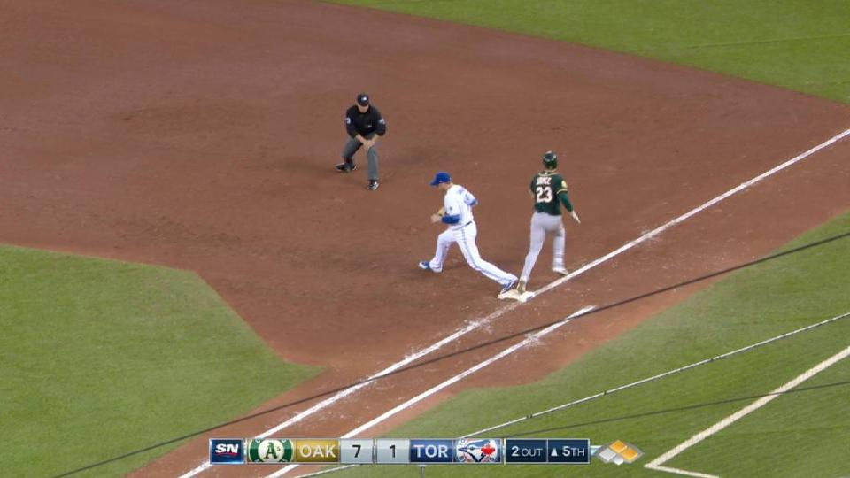 Blue Jays' strong defensive play