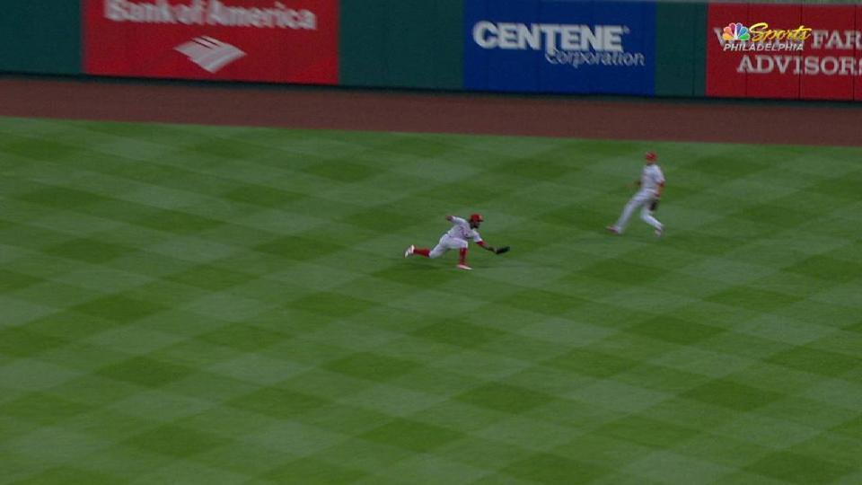 Herrera's terrific diving grab