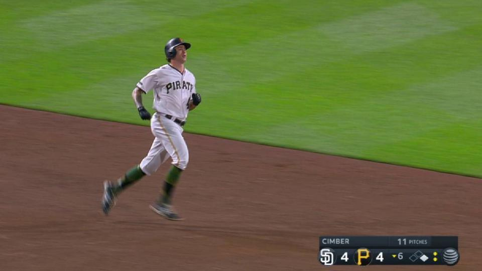 Brault's double to left-center