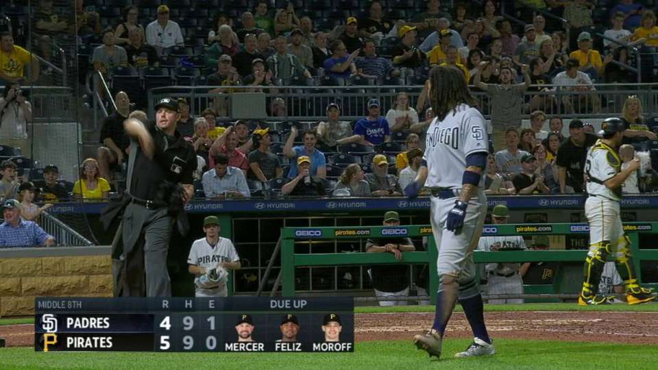 Galvis ejected after strikeout
