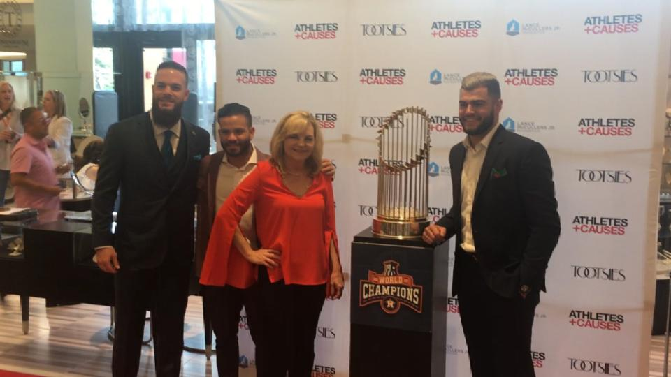 Astros' charity event