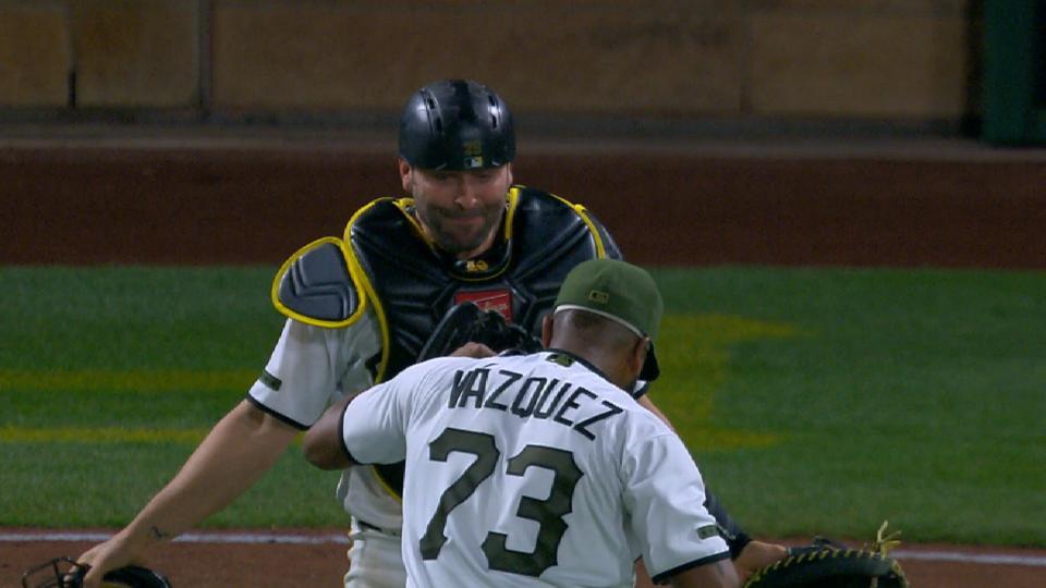 Vazquez slams the door