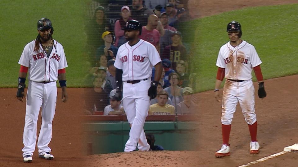 Red Sox run wild vs. Orioles