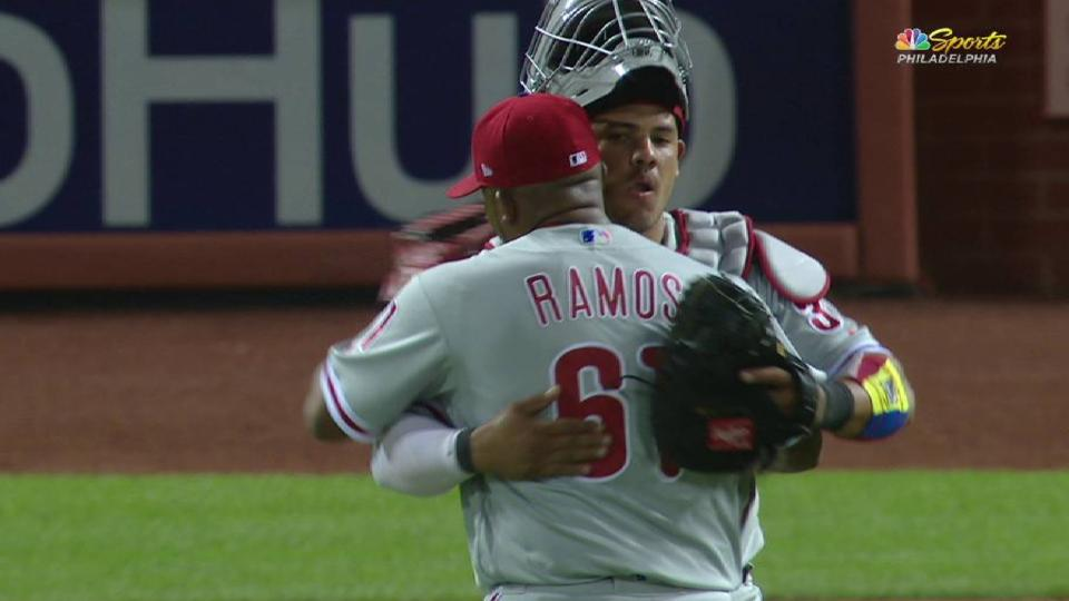 Ramos seals the Phillies' win
