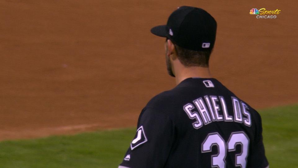 Shields' dominant 7 1/3 innings