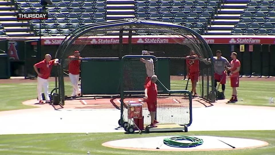 MLB Tonight: Trout's preparation