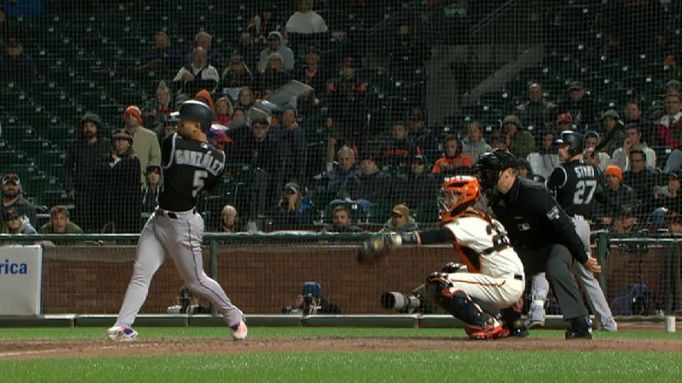 Gonzalez's go-ahead 2-run single