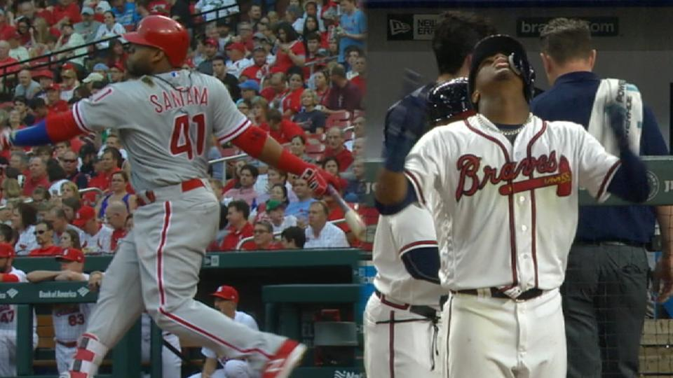 Phils, Braves surprising in East