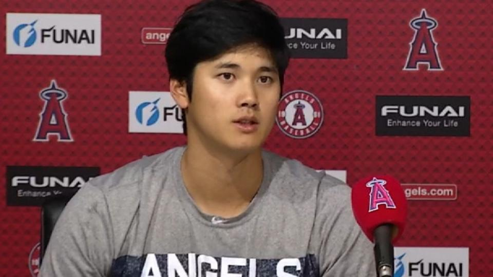 Ohtani on 7-1 loss to Rays