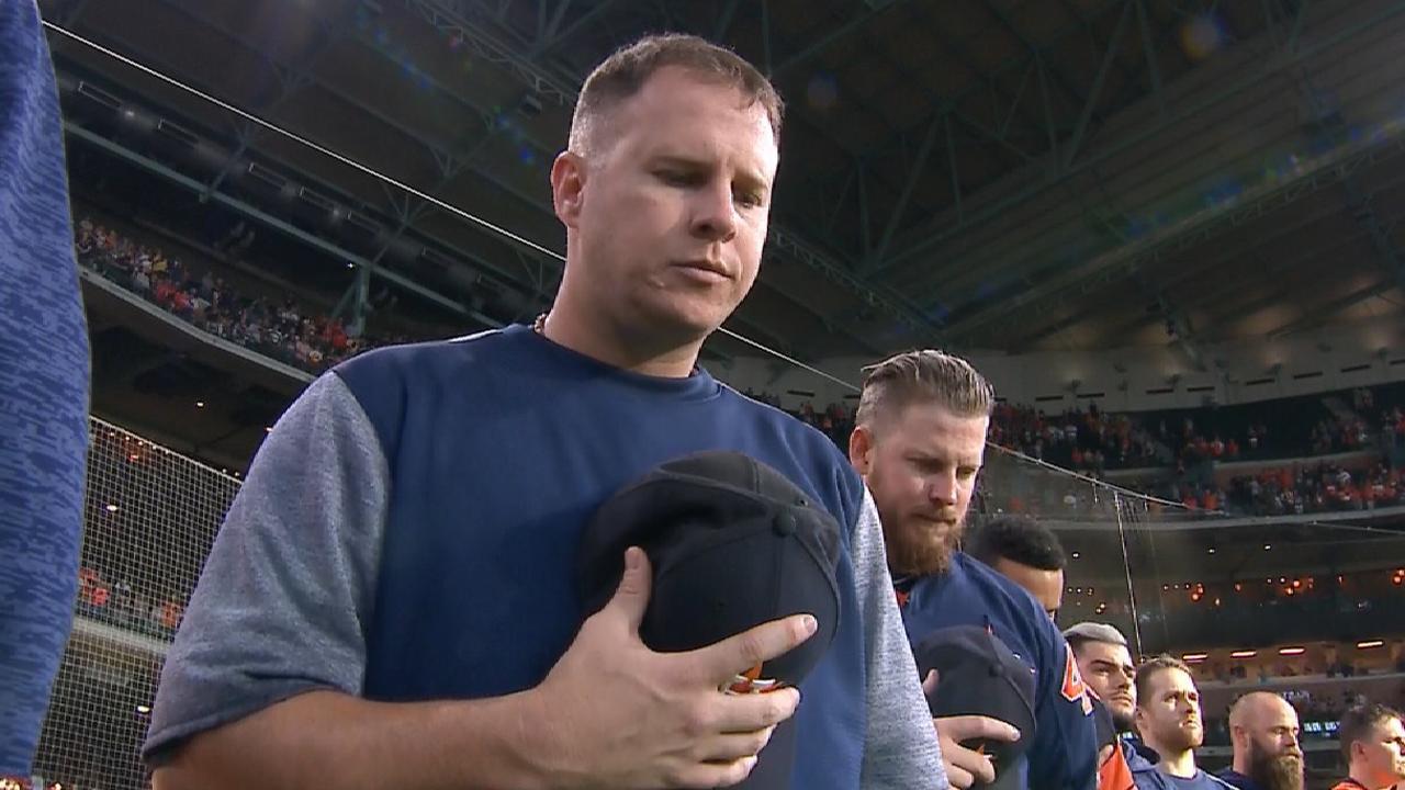 Astros honor Santa Fe HS
